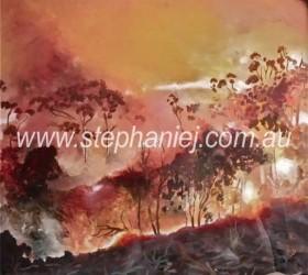 Bushfire I by Stephanie Jakovac