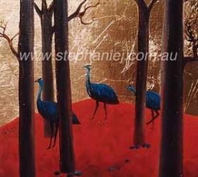Emus by Stephanie Jakovac